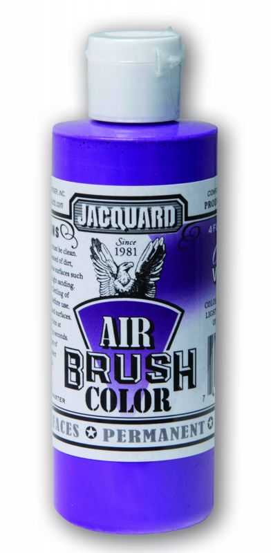 Jacquard Products Airbrush Color Flüssigfarbe Violet Opaque 118 ml Violett deckend