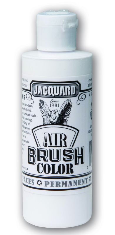 Jacquard Products Airbrush Color Flüssigfarbe Opaque Weiß 118 ml deckend
