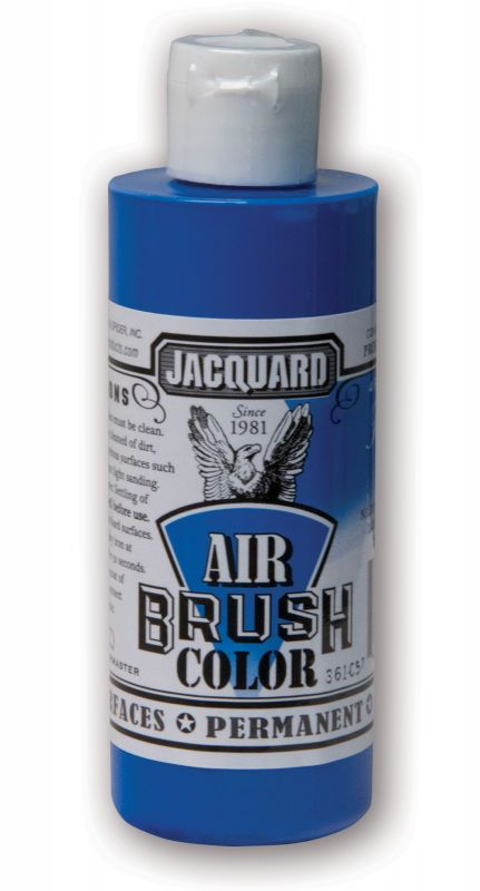 Jacquard Products Airbrush Color Flüssigfarbe Neon Blau 118 ml fluoreszierend