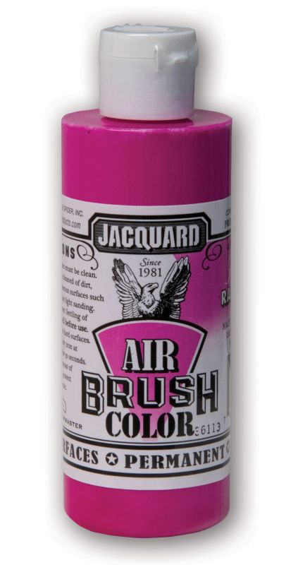 Jacquard Products Airbrush Color Flüssigfarbe Neon Raspberry 118 ml fluoreszierend