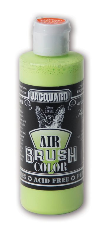 Jacquard Products Airbrush Color Flüssigfarbe Sneakers Volt 118 ml Neon Grün