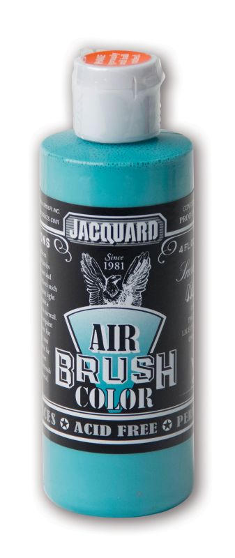 Jacquard Products Airbrush Color Flüssigfarbe Sneakers Miami 118 ml Türkis