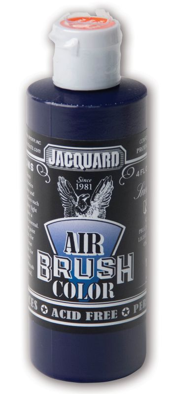Jacquard Products Airbrush Color Flüssigfarbe Sneakers Navy 118 ml - Marineblau