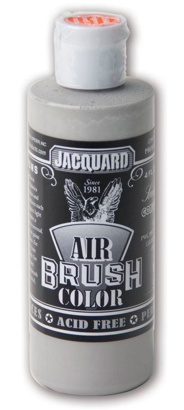 Jacquard Products Airbrush Color Flüssigfarbe Sneakers Concrete Grey 118 ml - Grau
