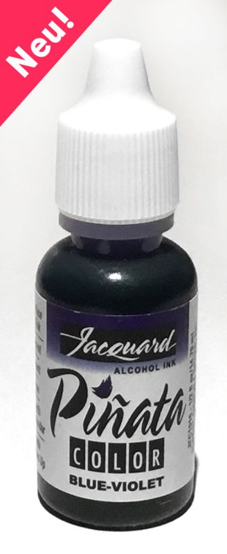 Jacquard Products Pinata Alcohol Ink, 14 ml Blue Violet, Tusche Blau - Violett