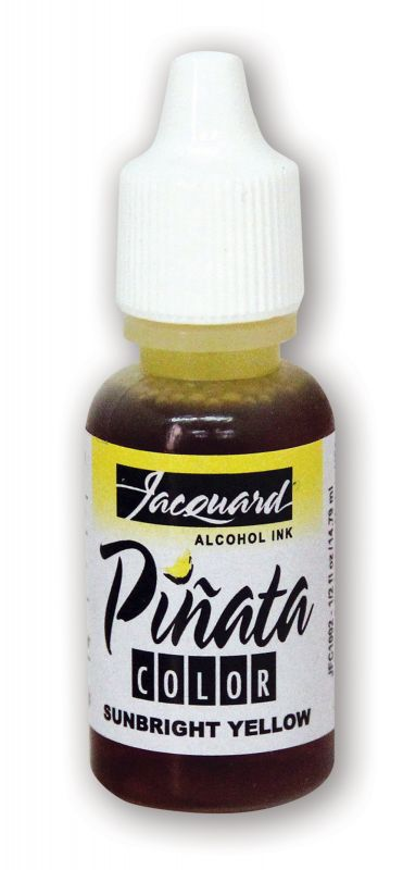 Jacquard Products Pinata Alcohol Ink, 14 ml Sunbright Yellow, Tusche Gelb
