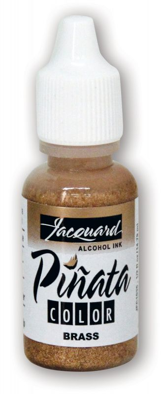 Jacquard Products Pinata Alcohol Ink, 14 ml Copper, Tusche - Brass Messing